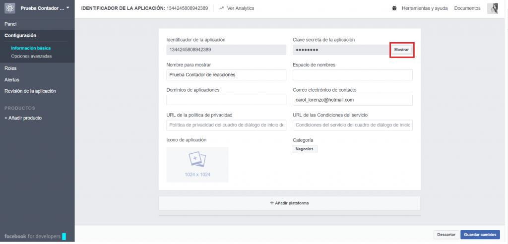 Facebook-Live-Contador-de-reacciones-CLAVE SECRETA DE LA APLICACION