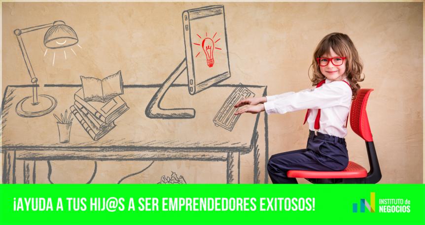 formar niños emprendedores