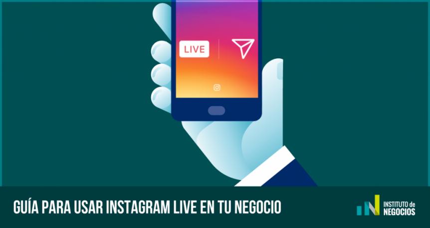 como usar instagram live