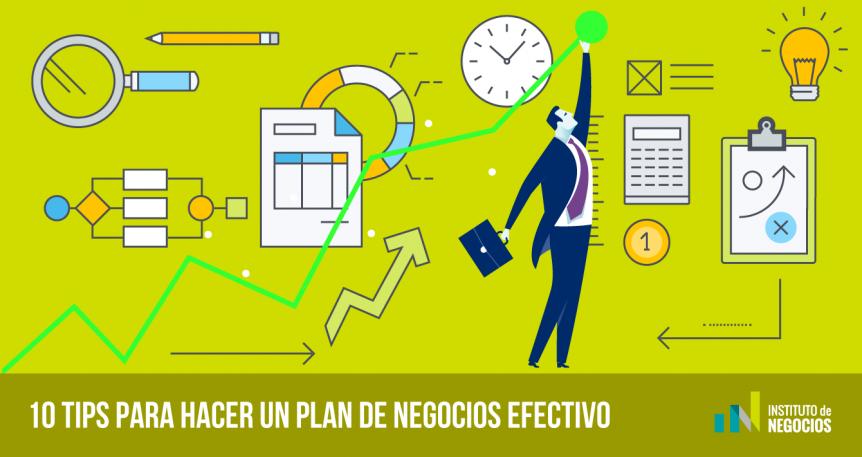 plan de negocios efectivo