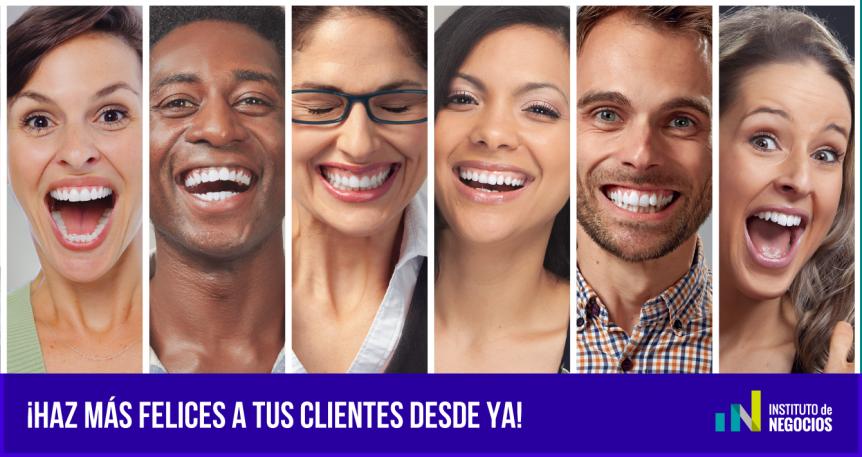 tener clientes satisfechos