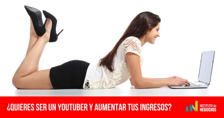ganar dinero extra en YouTube