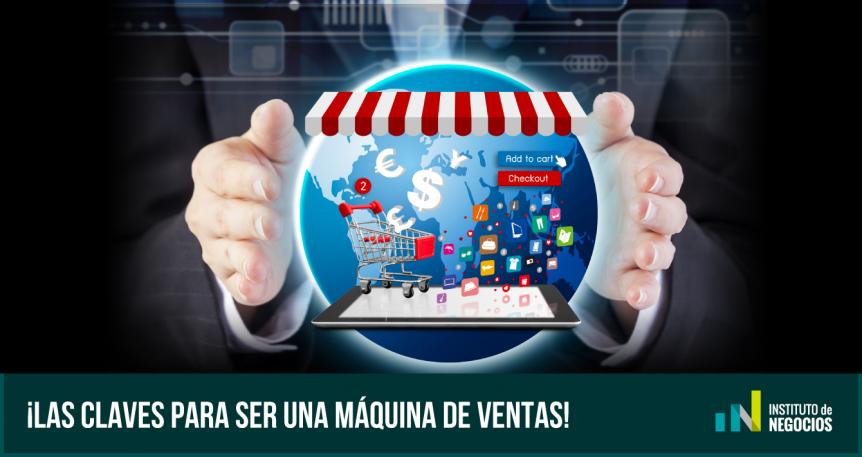 ser una máquina de ventas online