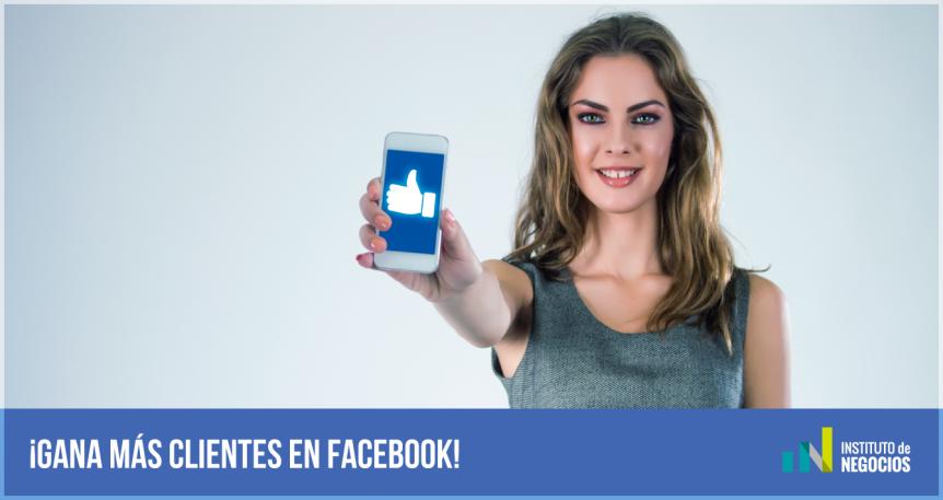 tener más clientes en Facebook