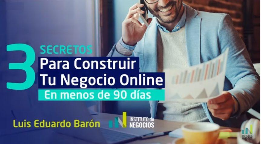 construir un negocio online